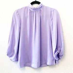 Prologue Light Purple Lavender Blouse MEDIUM EUC